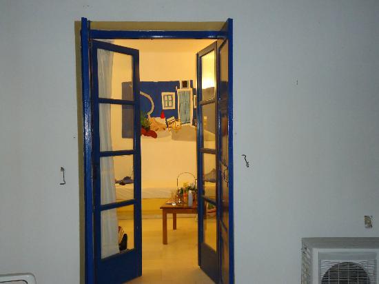 Casa di Roma: το δωμάτιο από τη βεράντα