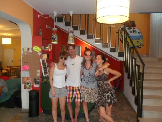Jammin' Riccione Beach & Fun Hotel: Il top staff!