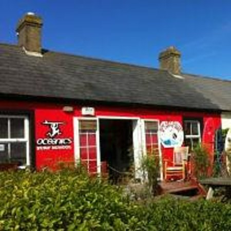 Tramore, Ireland: The Red Cottage
