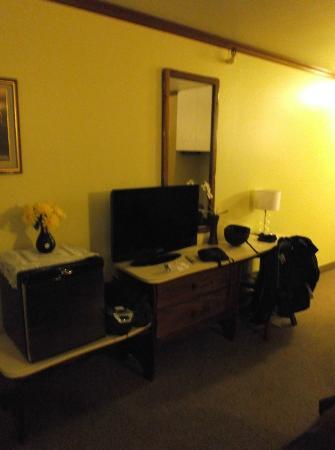 Hotel Motel Le Chateau: Notre chambre 204 au 31 août 2012.