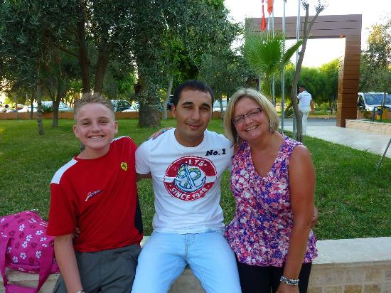 Jasmin Beach Hotel: Us with Emre