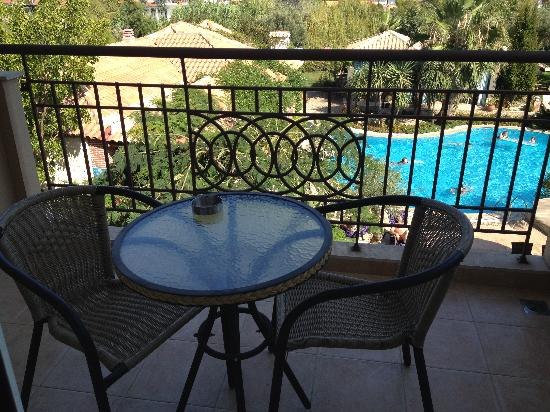 Achtis Hotel: vista dalla stanza