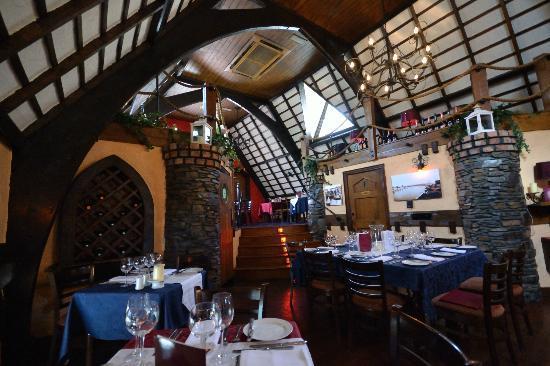 The Locke Restaurant: seating upstairs
