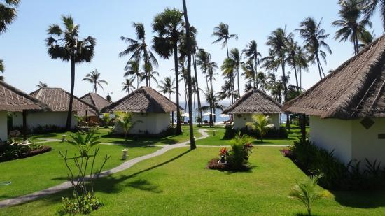 Kubu Indah Dive & Spa Resort: View from our room