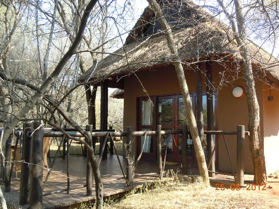 Three Cities Madikwe River Lodge: Our chalet