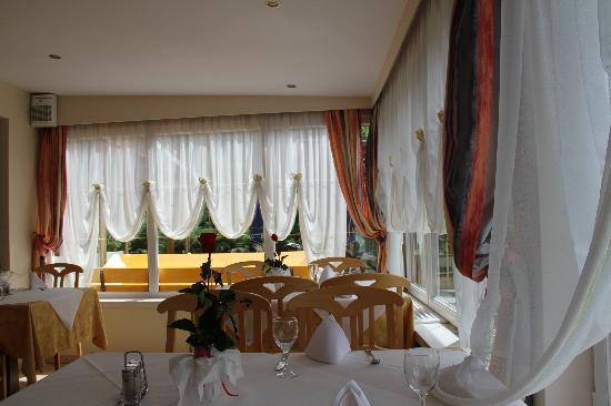 Unterinnerhof Panoramahotel: sala da pranzo