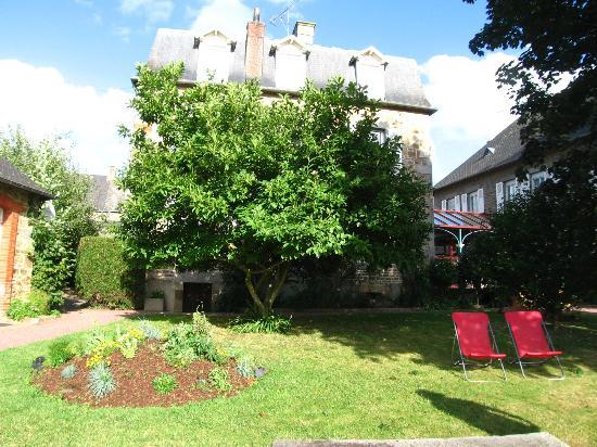Auberge de La Sélune : il giardino