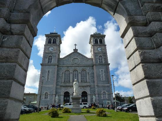 Basilica Cathedral of St. John the Baptist: Church from Military Road