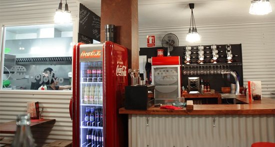 Al rojo vivo: a brand new fast-food style