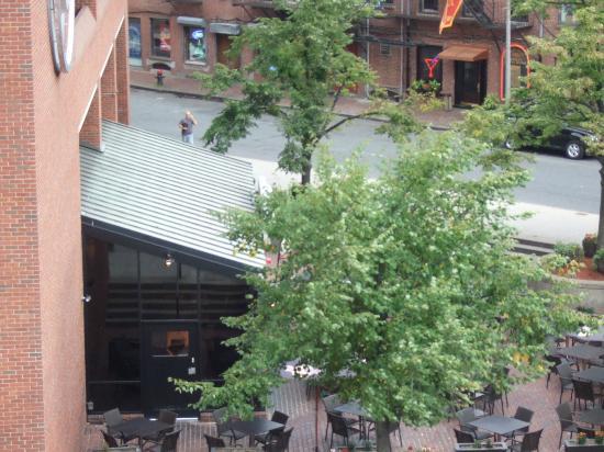The Bostonian Boston: Hard Rock Cafe across the street