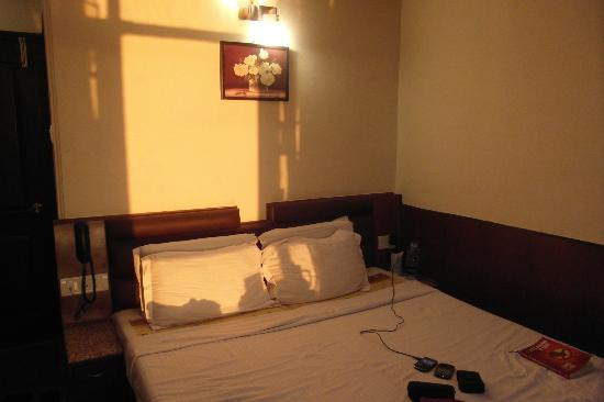 Kapil Hotel: The room