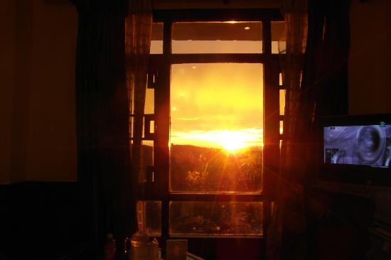 Kapil Hotel: Sunset from the room