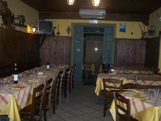 בראצ'יליאנו, איטליה: Vista della sala