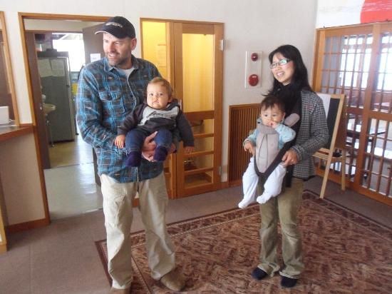 Alpine Villa Nozawa: The Owners Mark & wife
