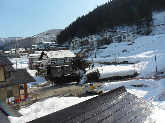 Alpine Villa Nozawa: View from hotel
