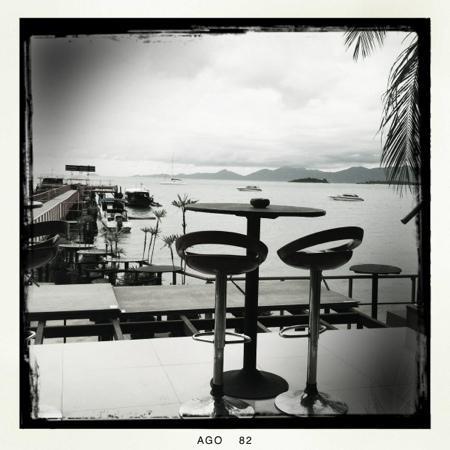 P10 Samui: vista dalla marina per la colazione