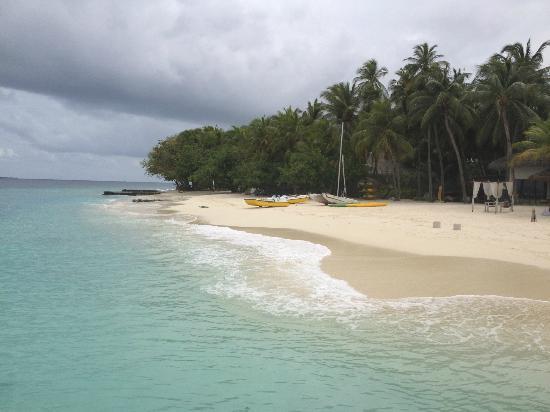 Vivanta by Taj Coral Reef Maldives: Blick von Landungssteg