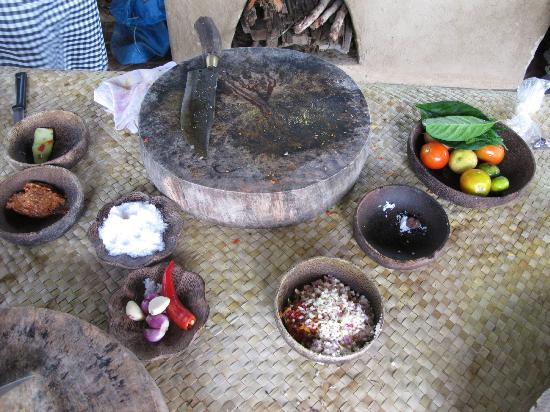 Surya Shanti Villa: Cooking course