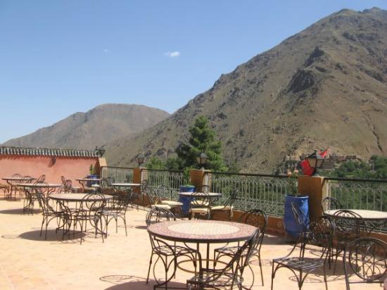 Hotel Etoil Du Toubkal : Terrace view