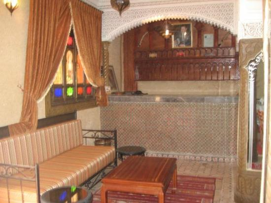 Hotel Etoil Du Toubkal : Reception