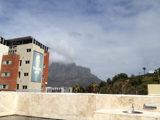 African Elite de Waterkant : view from roof/splash pool on roof