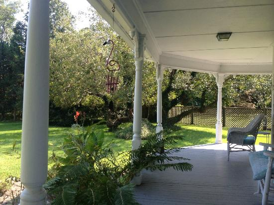 Beaver Dam Creek House: Porch