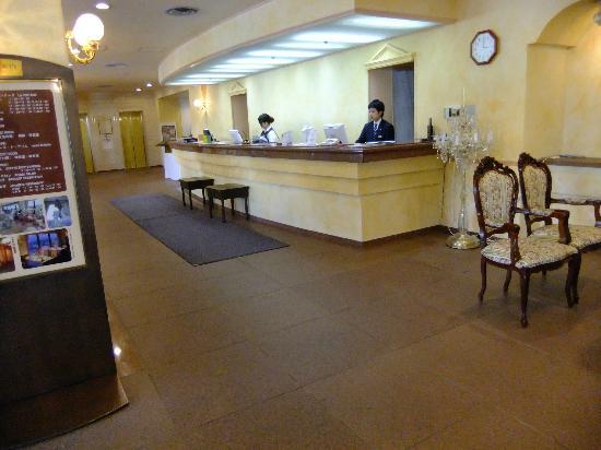 Hotel Ruiz: フロント付近