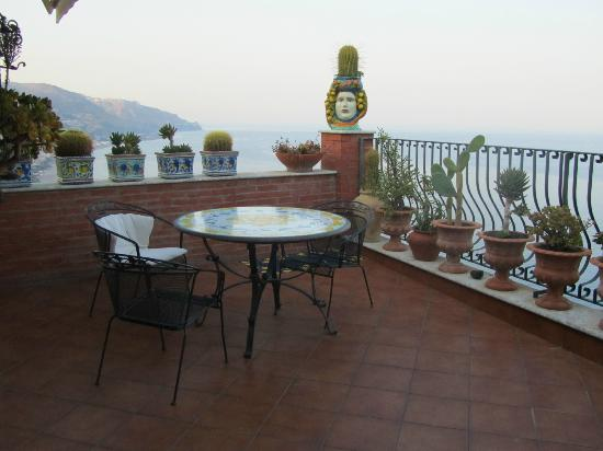 B&B Martina: La terrazza panoramica