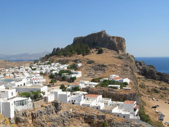 La rocca di Lindos - Picture of Acropolis of Lindos ...
