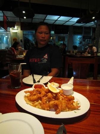 Valhalla Bar & Restaurant: Chicken Cancun