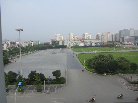 Jingxiang Hotel: View from the room