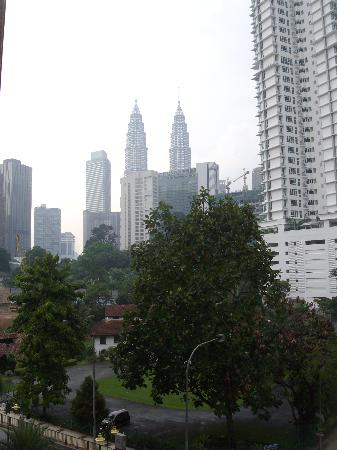 The Royale Chulan Kuala Lumpur: View from my room