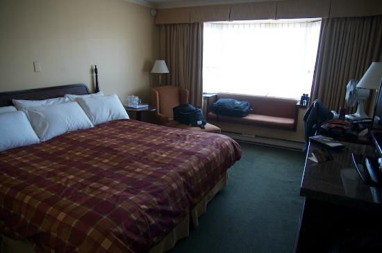 Crest Hotel: Vue de la chambre