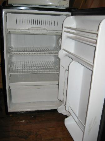 Big Oaks Family Campground: mini-refrigerator