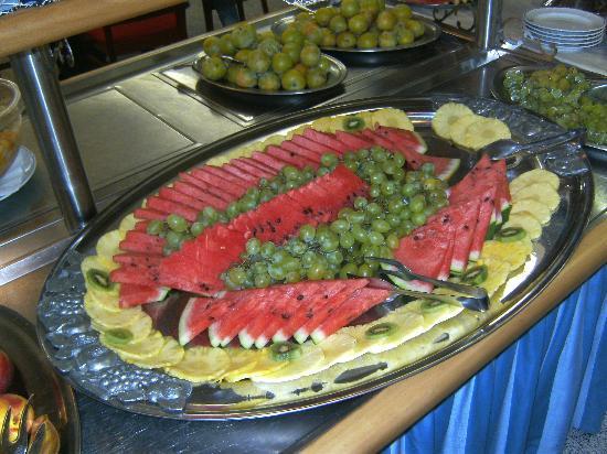 Hotel Ambassador: Tolle Auswahl an frischen Früchten
