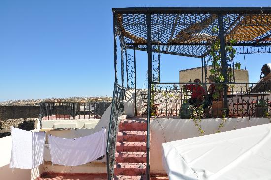 Dar Kenza: Dachterrasse