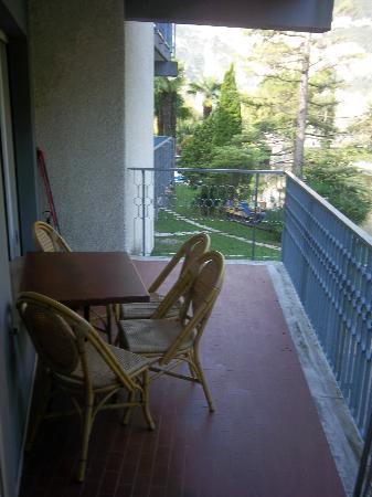 Bellariva Hotel: Aussicht vom Balkon