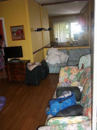 Bellariva Hotel: Sitzecke Wohnzimmer