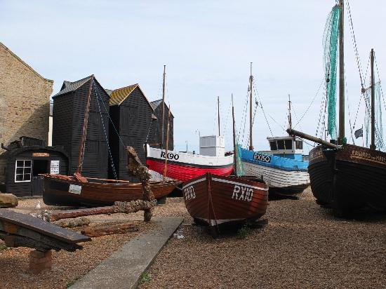 Maggie's: The old fishing fleet