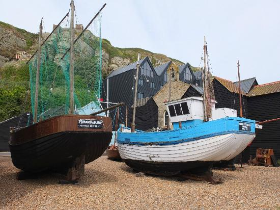 Maggie's: Fishing boats
