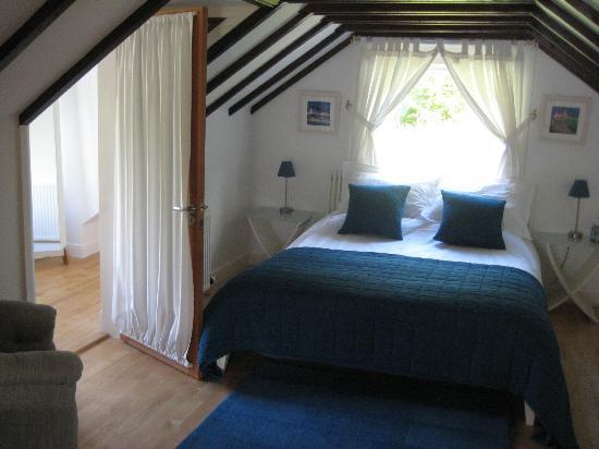 Huntingtower Lodge: La chambre..romantique à souhait