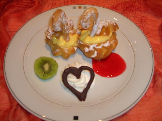 Hotel Isabella: magnifico dessert