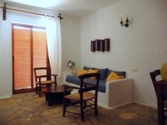 Elounda Island Villas: Interior de la villa