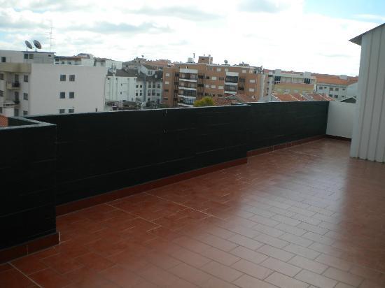 Hotel Cristo Rei: Terrazzo della camera