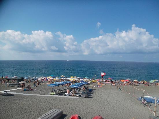Hotel 4 Venti : Vista mare e spiaggia