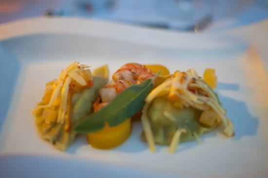 Gasthof Knappenwirt: 6 course dinner, pumpkin variation