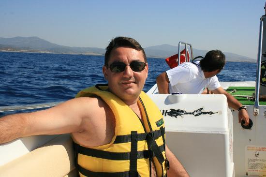 Labranda Ephesus Princess: me after parachute gliding