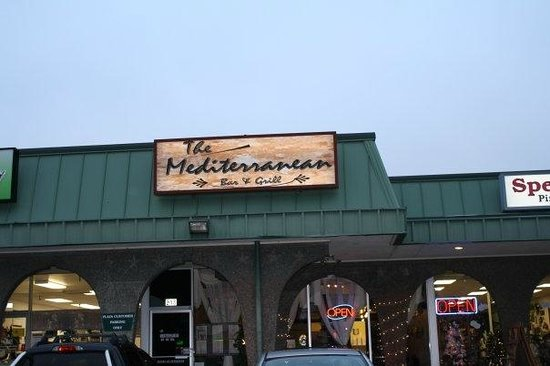 The Mediterranean : Restaurant front