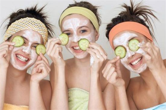 Blush A Day Spa: spa parties for all ages