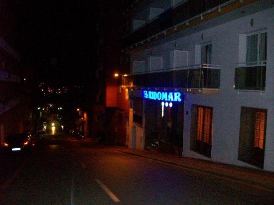 Hotel Ridomar: entrata